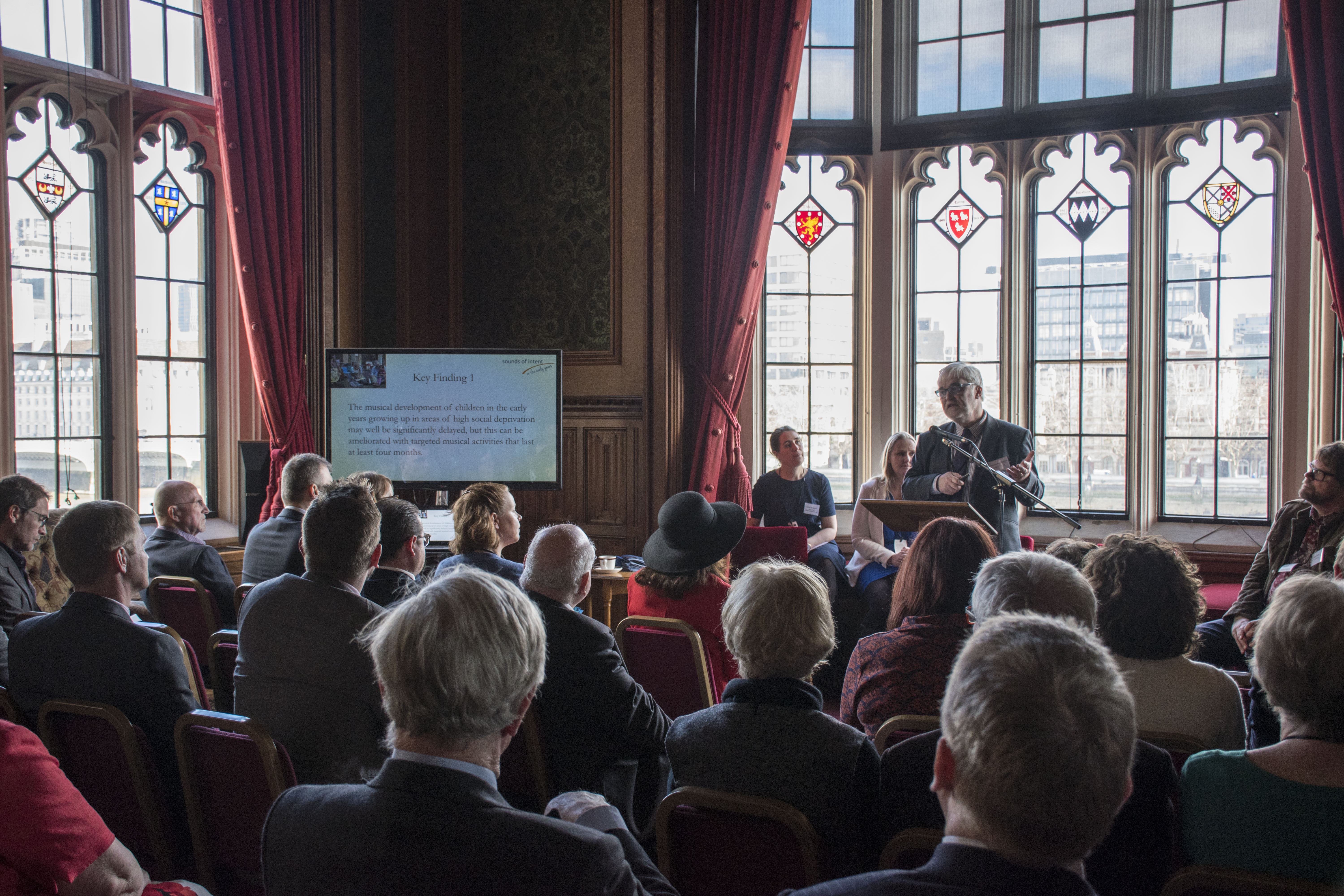 Image - Roehampton Professor launches research report showing ground-breaking findings at the House of Lords