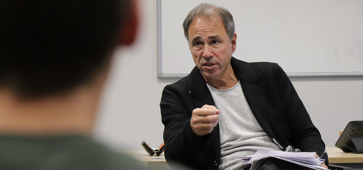 Image - Anthony Horowitz Hosts Masterclass with Students