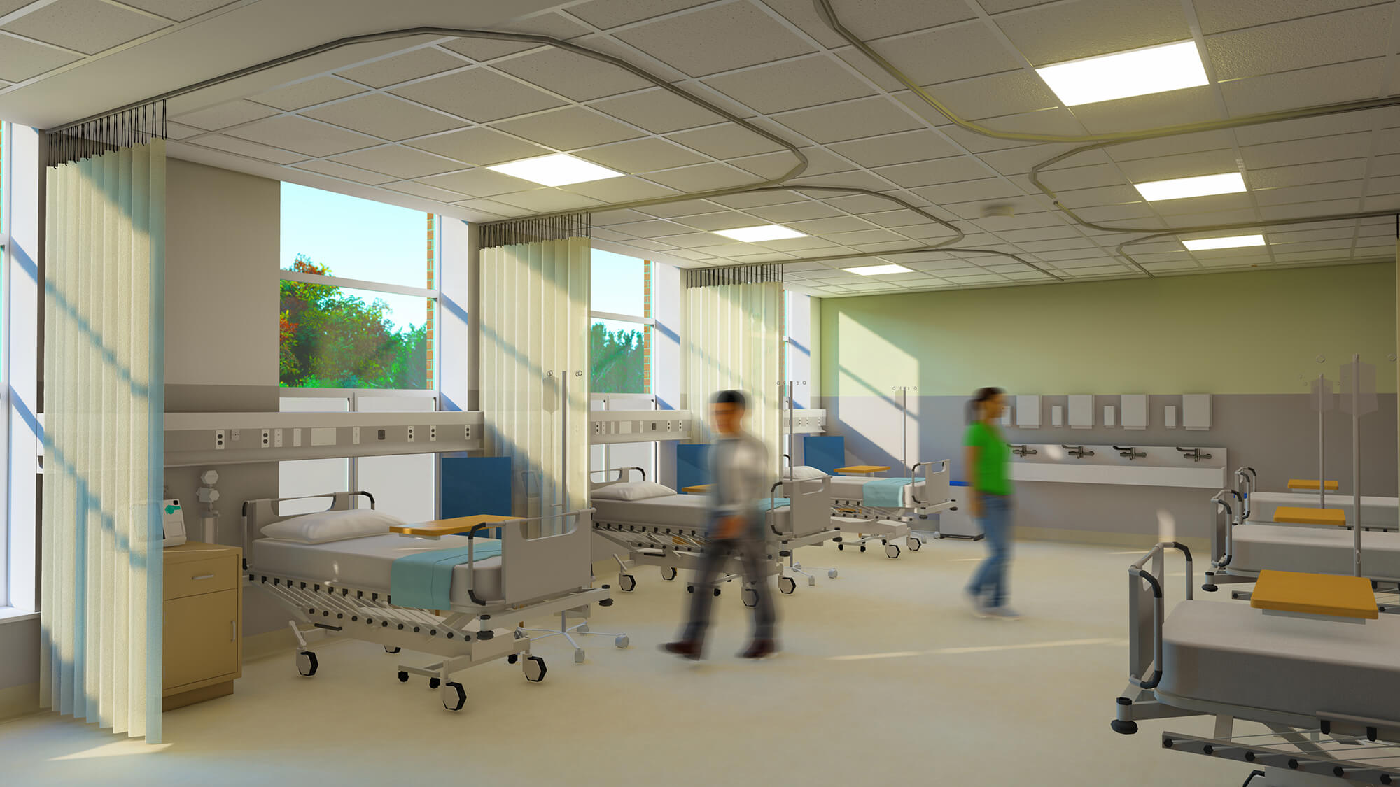 Image - Work begins on Roehampton's Clinical Simulation Centre