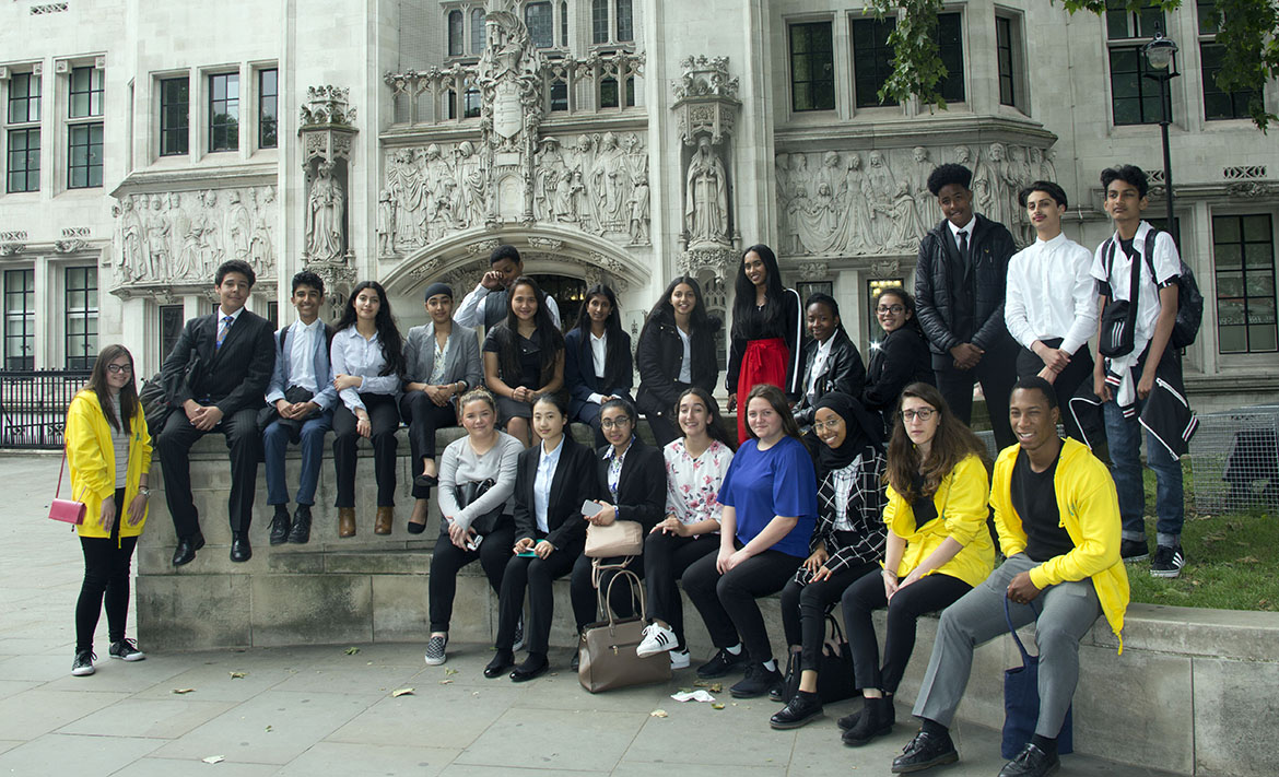 Image - Local school pupils take part in first ever Pathways to Law Summer School