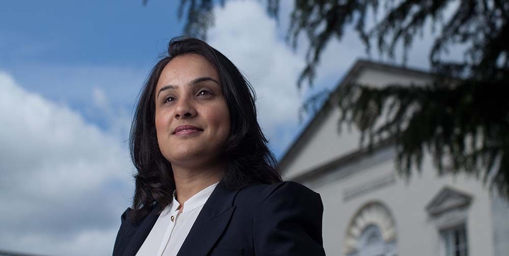 Image - Professor Aisha Gill supports women's charities during lockdown