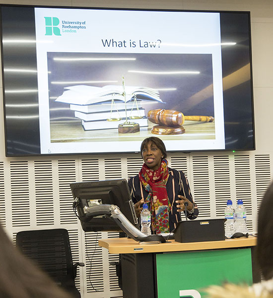 Image - Roehampton Law School welcomes third Pathways to Law cohort