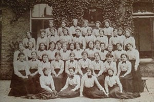 Students at Wandsworth College, circa 1902-03