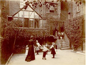 Challoner Street School c1903/04, Headteacher Miss Hope