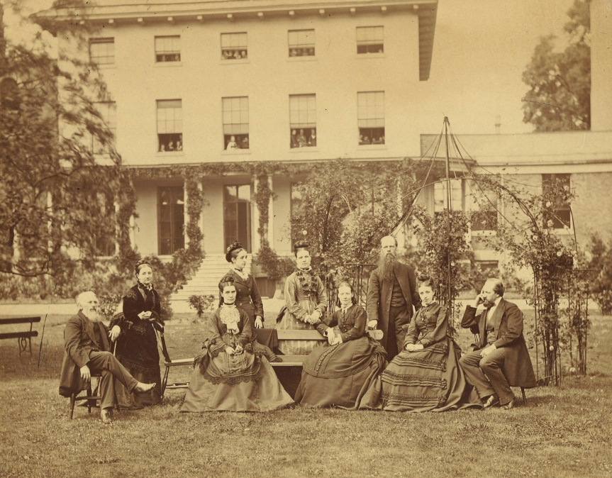 Management and staff of Southlands College, Battersea 1874