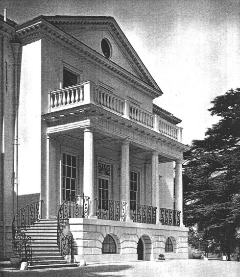 Mount Clare as a private residence in 1935
