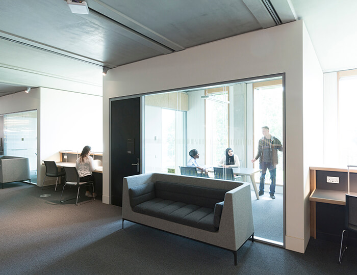 Image -  Private rooms for group work