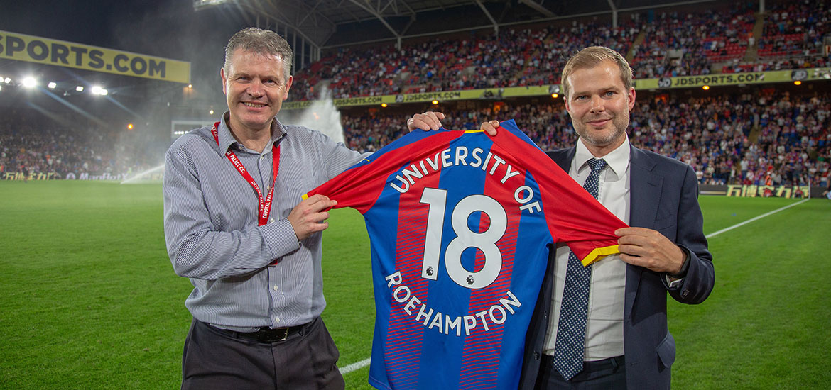 Image - University of Roehampton partners with Crystal Palace FC