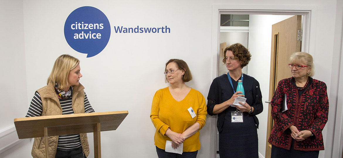 Image - Citizens Advice Wandsworth and Roehampton open new advice centre